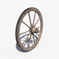 3ds wagon wheel
