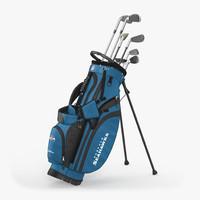 Golf Bag Seahawks with Clubs