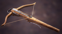AAA Animated Light Medieval Crossbow