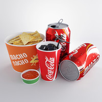 Coke and Nachos