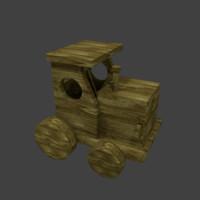 Wood Train Toy