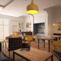 Modern Coffee Bar
