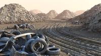 Desert off road /  construction site
