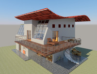 Villa House Design Revit