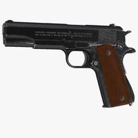 Colt M1911 Special Combat Pistol Black