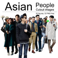 Asian People Cutout Images