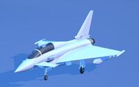 Eurofighter Typhoon Aircraft