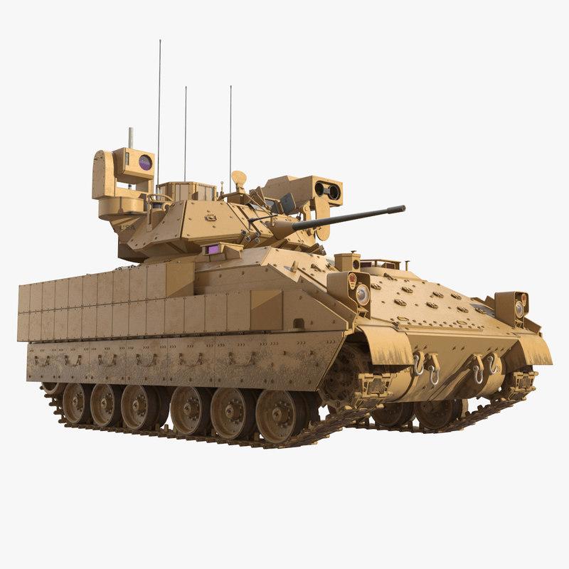 D max m tank bradley