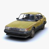 Saab 900 Turbo Rusty