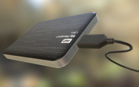 External HDD With USB Cable Rigged WD Version
