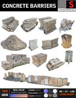 Concrete Barricade Pack 13
