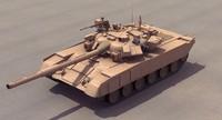 T90 Tank Desert