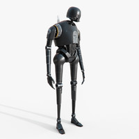 Star Wars K-2SO Droid