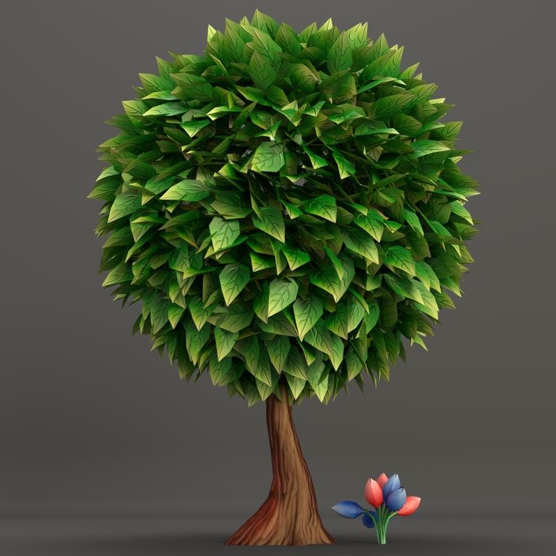 low poly round tree 1 shot 3.jpg