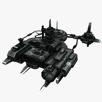 3ds max civilian station