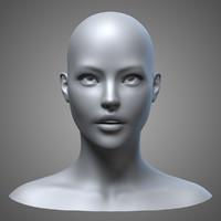 Female Head 3