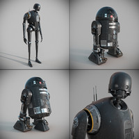 Star Wars K-2so C2-B5 Collection