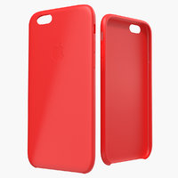 iphone 6 silicone case 3d 3ds