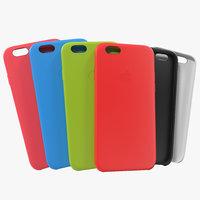 iphone 6 silicone case 3d c4d