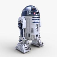 star wars r2d2 3d model