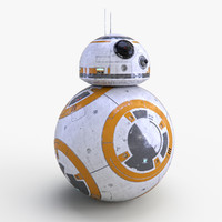 3ds max star wars bb-8 droid