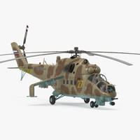 Russian Helicopter Mil Mi-24 Hind