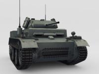 3d light tank pzkpfw ii