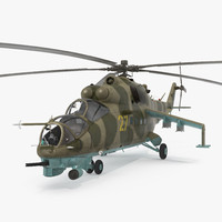 Russian Helicopter Mil Mi-24