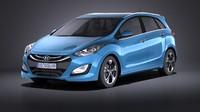 Hyundai i30 Wagon 2014 VRAY