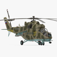 Russian Helicopter Mi-35M