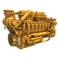 heavy duty engine 3d 3ds