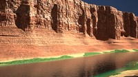 Canyon with river