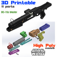 DC-15s Blaster (3D Printable Edition)