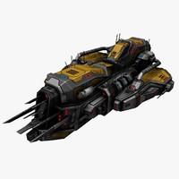 3d max spaceship