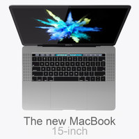 MacBook Pro 15-inch 2016 Touch Bar A1707