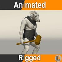 Fantasy Sheep Warrior