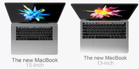 MacBook Pro 15 and 13-inch Touch Bar