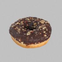 Hazelnut Frosting Chocolate Donut