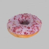 Blueberry Donut