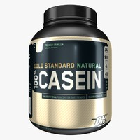 Optimum Nutrition 100% Whey Gold Standard - Casein - Naturally - French Vanilla