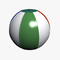 3ds beach ball