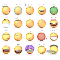 Smile collection icons