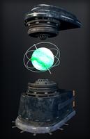 Sci-fi Hologram