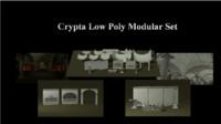 Crypta Modular set Low Poly