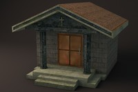Crypt 1 Low Poly