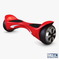 3d hx x1 red model