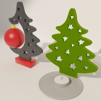 3d new year tree 03