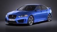 Jaguar XFR-S 2016 VRAY