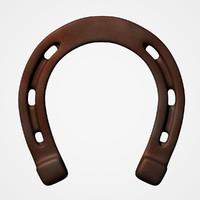 3d model of old horseshoe