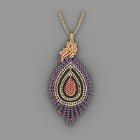 Feather Pendent